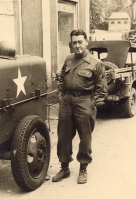 Irv Carl with 89th Inf Div Patch