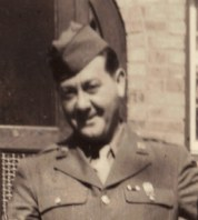 Irv Carl in WWII uniform