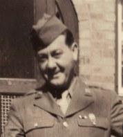Irv Carl in WWII uniform