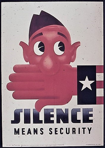 silence means security