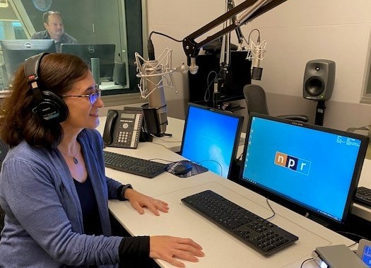 Renee at NPR sized