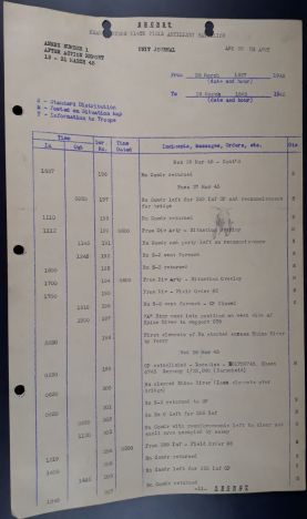 914 FA Bn After Action Rpt WWII Unit Journal web