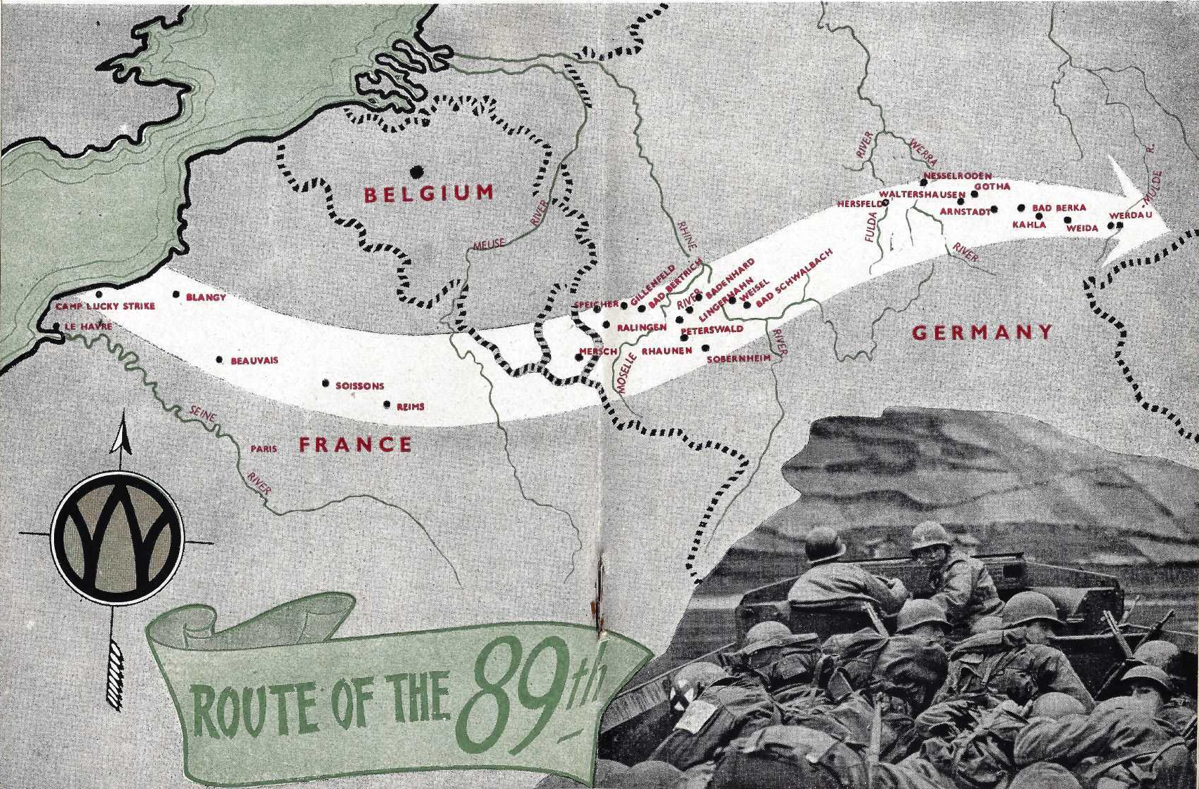 Rolling Ahead Publication Map